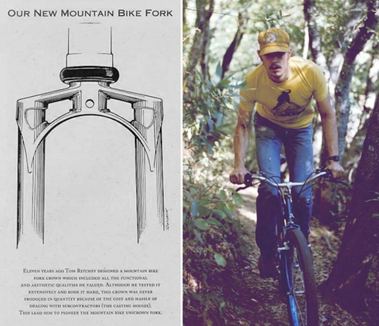 Tom Ritchey: Unicrown Fork Pioneer