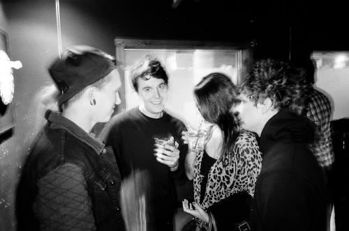 Mikey, Courtney, Jeff and Matt