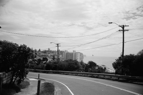 Winding roads into Bondi