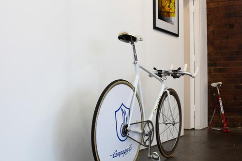 Australia's cycling history is on display.