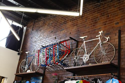 More frames and bikes for sale.