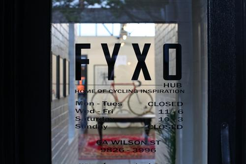 Like the branding, the Fyxo HUB hours are minimal.