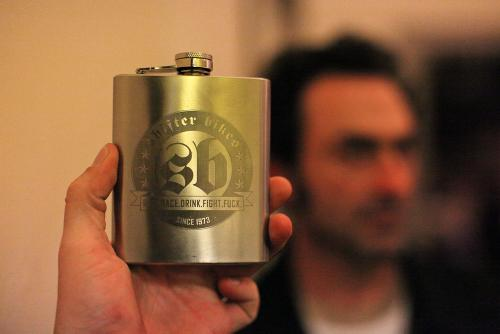 All Hail the Bourbon Flask