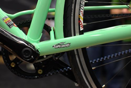 This bike had some of the cleanest paint in the show.