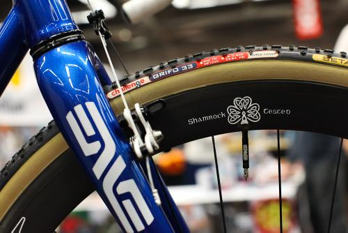 Shamrock painted ENVE wheels.