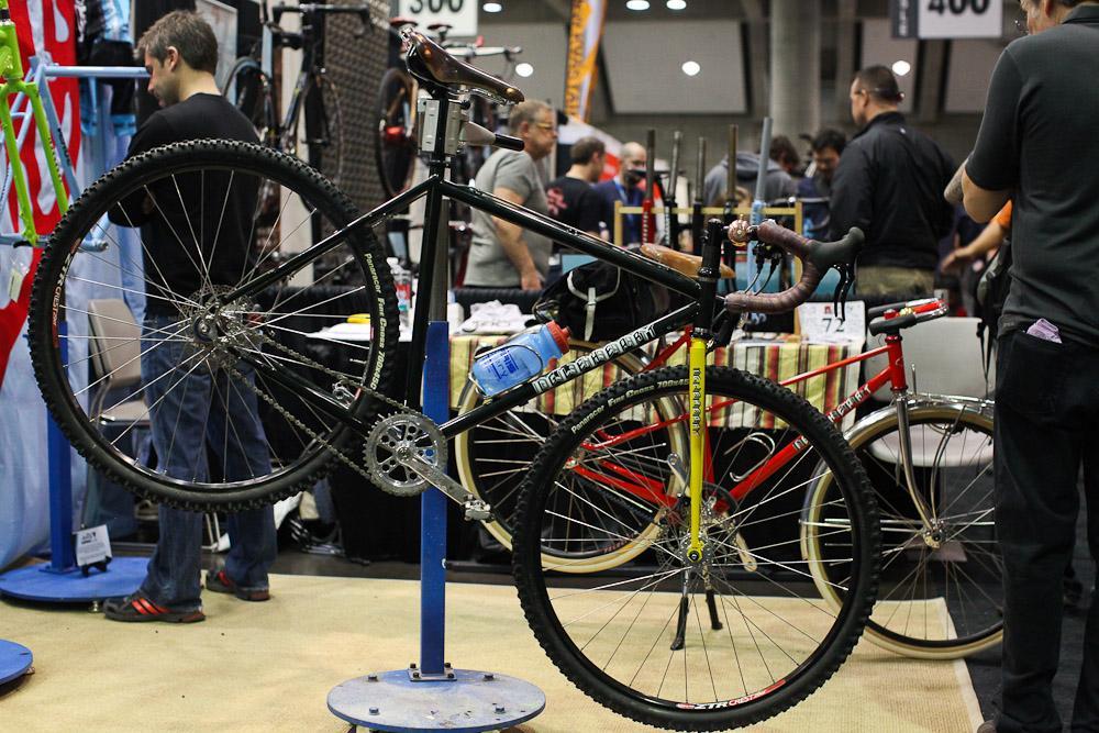 Igleheart's off-road camping bike.