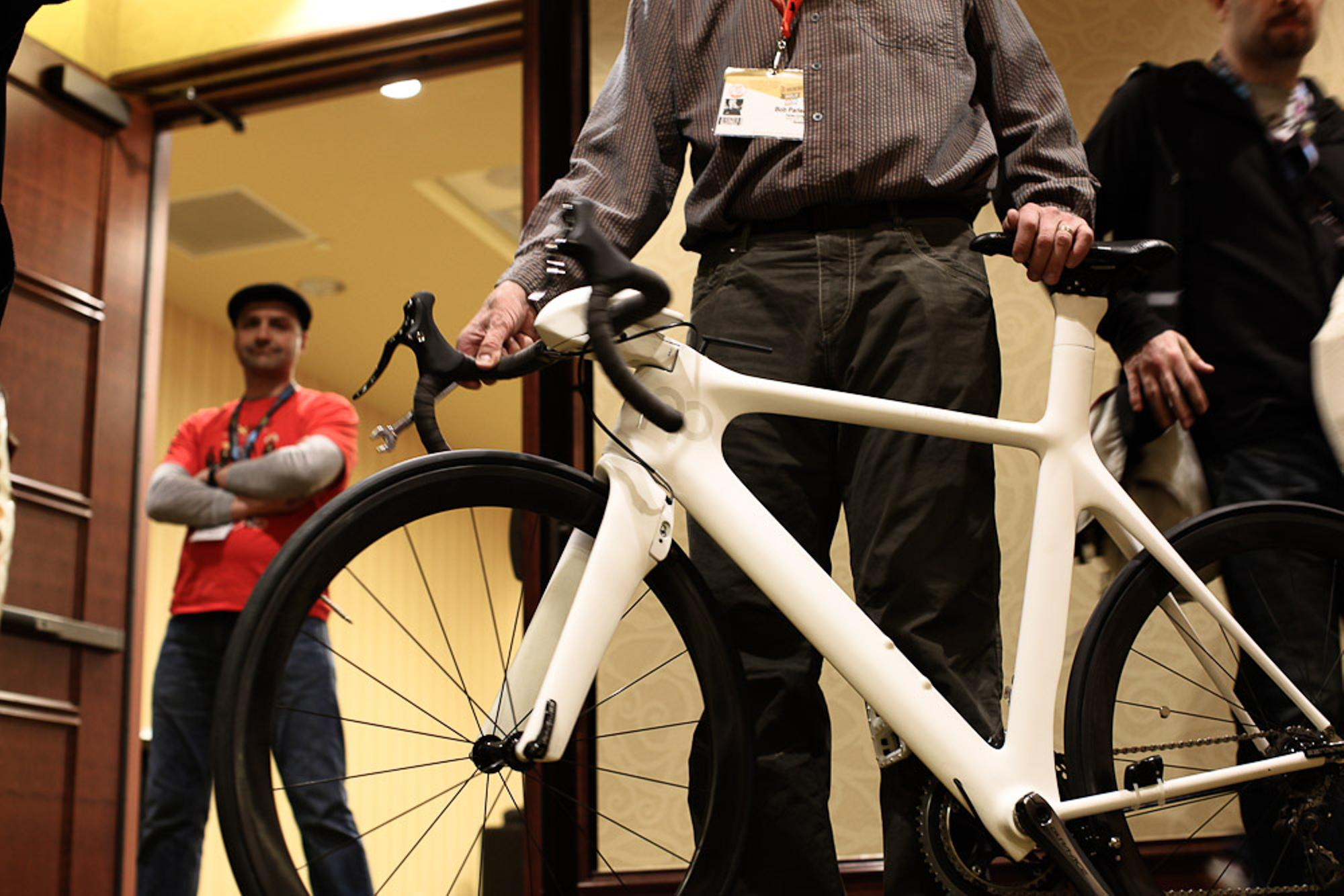Bob Parlee with the PxP bike.