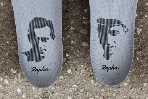 But like all of Rapha's products, they pull in influences from cycling's history.