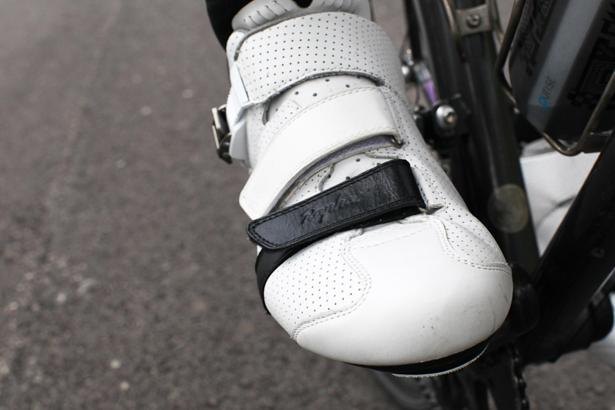 When Rapha made these, they wanted them to be stiff enough to race in, yet comfortable enough for longer rides.