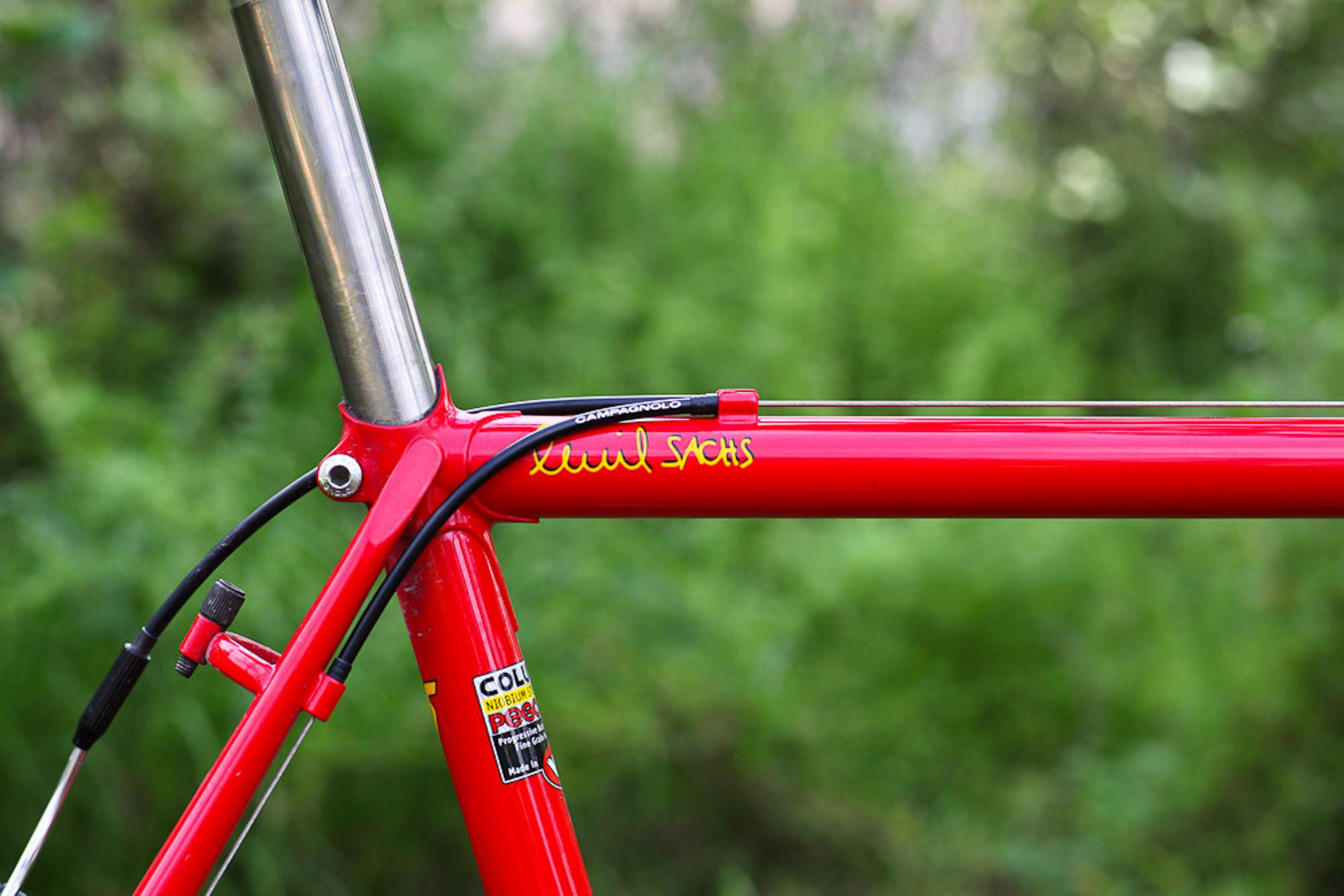 Beautiful Bicycle: Ross' Richard Sachs Cross Bike