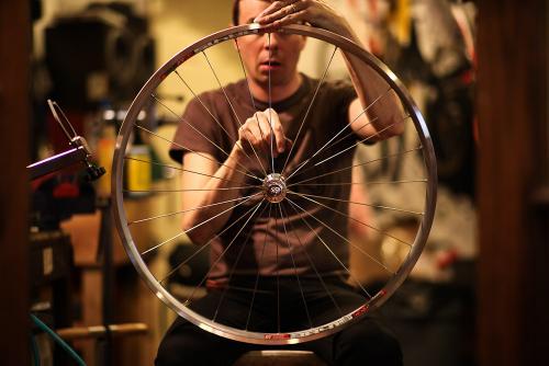 A Wheel Comes to Life