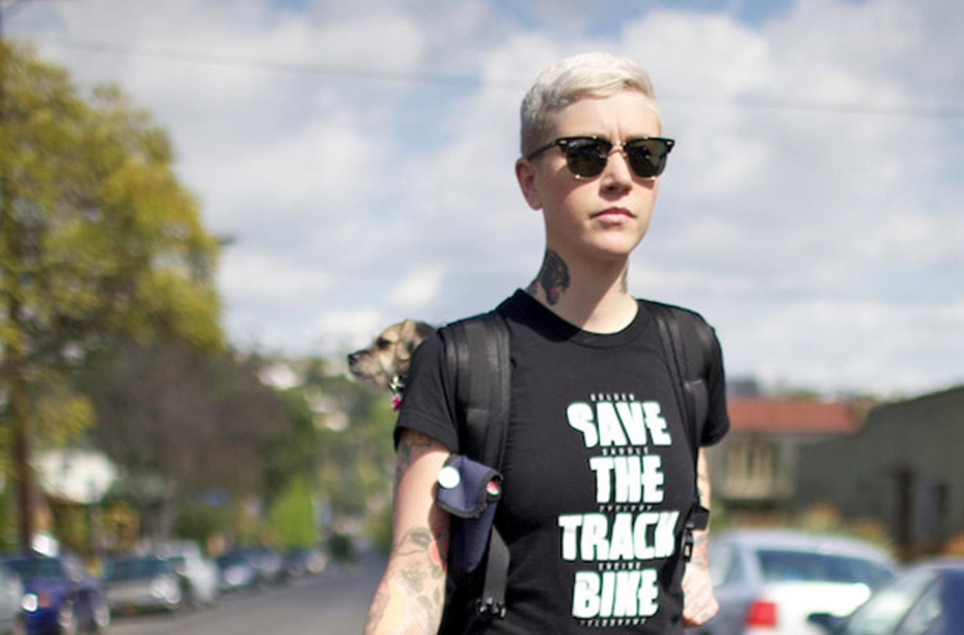 Kelli Returns to Save the Track Bike
