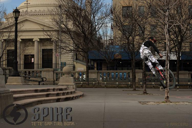 Torey's New Spike Parts Ad by Scott Marceau