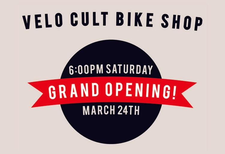 Velo Cult Grand Opening in Portland