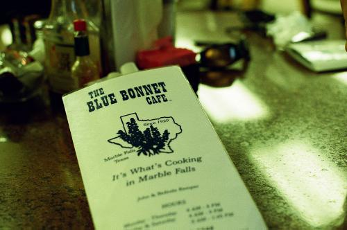 Blue Bonnet Cafe, Marble Falls