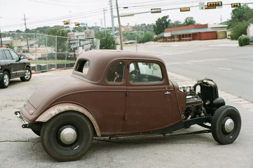 Rat rod in Marble falls... from here, I was out of film and we hammered it back to Austin.