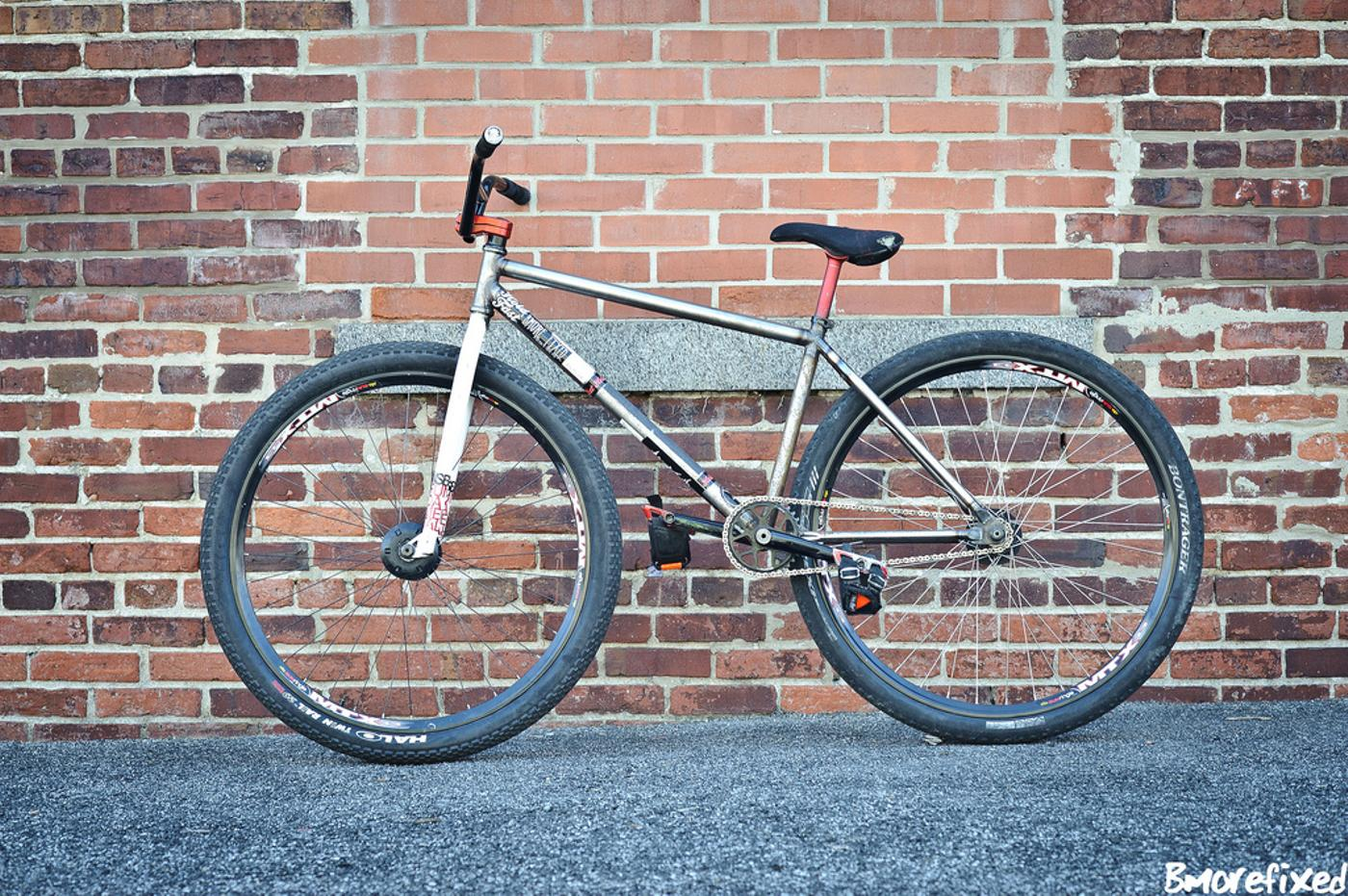 Hold Fast's 29'r FGFS Prototype Frame
