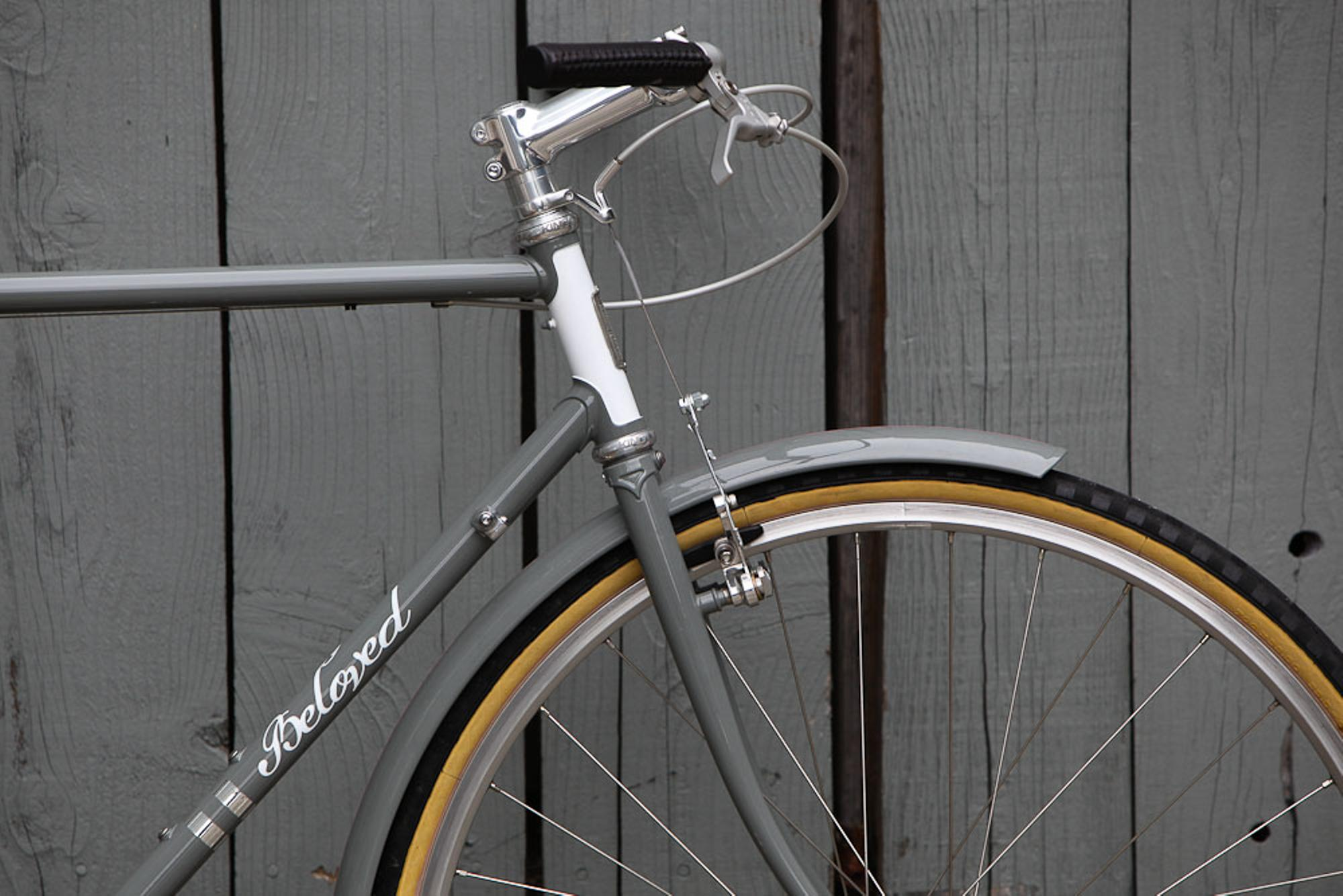 Beloved 'Every Day' Townie at the Rapha Cycle Club SF