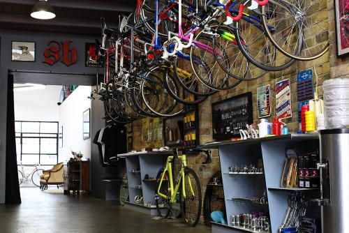 A Pit Stop at Shifter Bikes