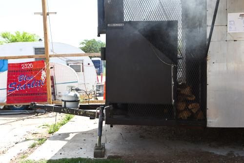 ...but not until I swung through for a brisket sandwich. Danny's BBQ trailer is the jam.