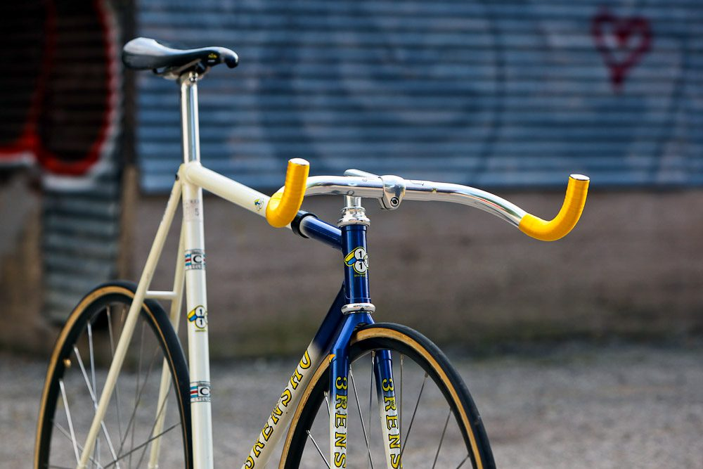 Ross' 3Rensho International Keirin Champion Track Bike