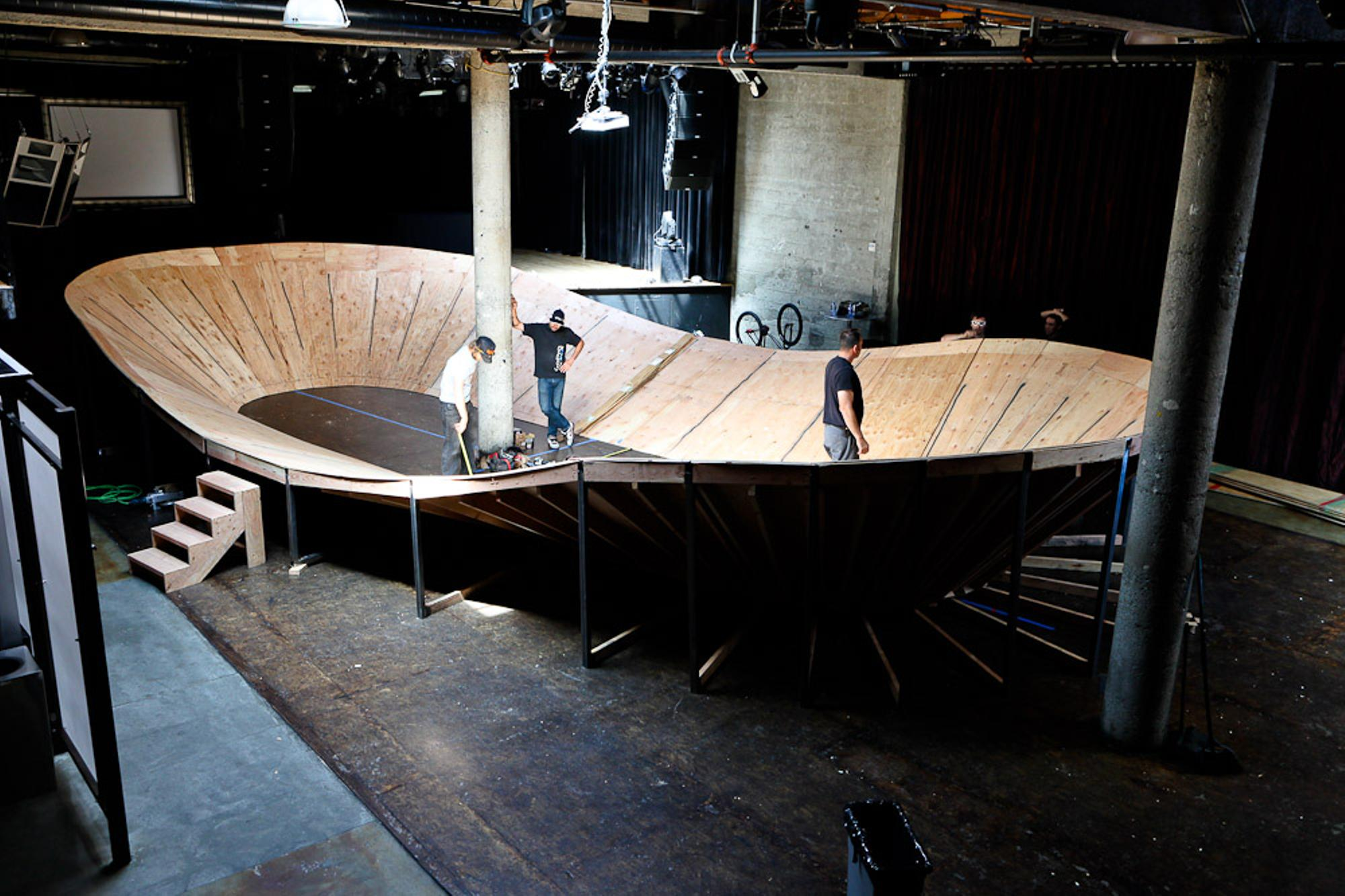Setting Up the Red Bull MiniDrome
