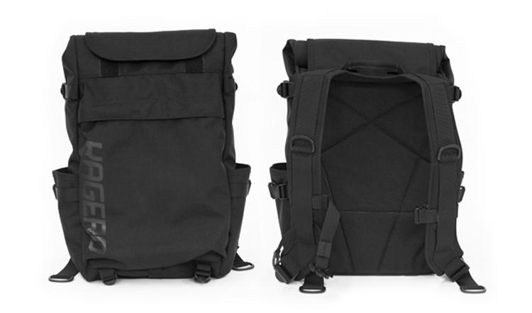 Pedal Consumption: Kagero Roll-Top Backpack by Blaq