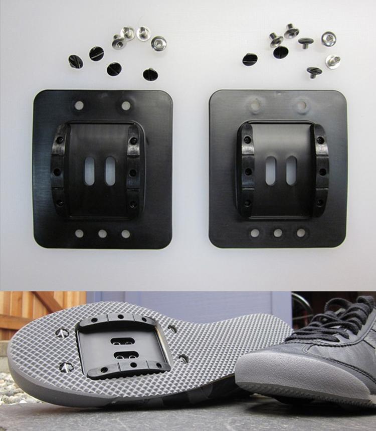 Retrofitz: Turn any Sneaker into an SPD Cycling Shoe