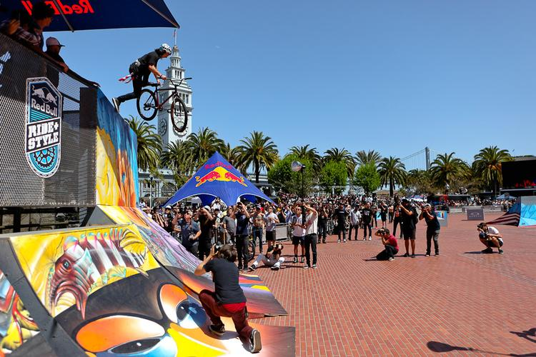 The 2012 Red Bull #RideNStyle – Fixed Freestyle