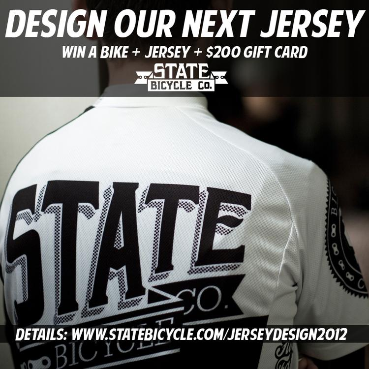 Design the Next State Bicycle Co Jersey