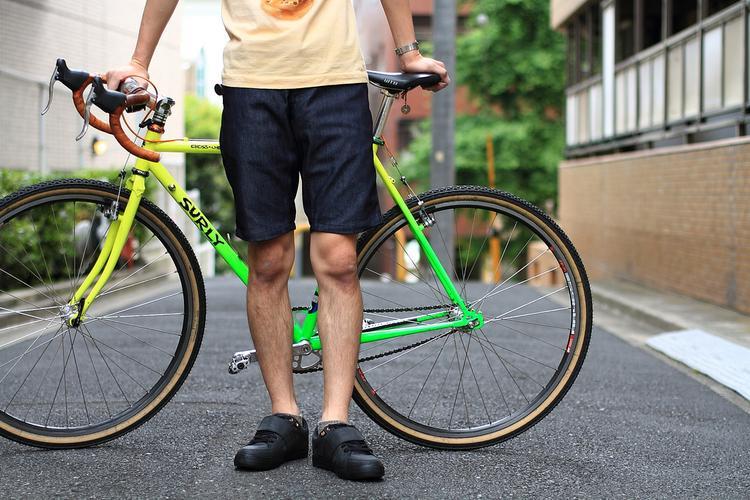 Blue Lug: SWRVE Indigo Shorts