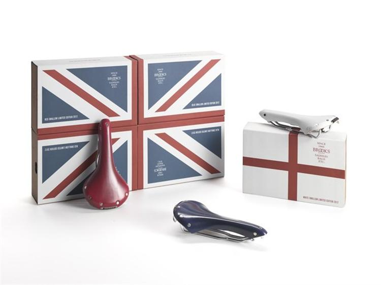 Brooks England: Limited Edition Olympic Saddles