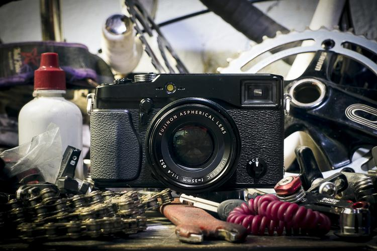 Kevin Sparrow Discusses the Fuji X-Pro1 and Cycling