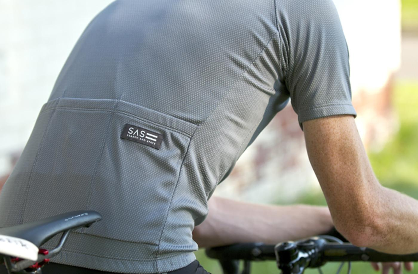 Search and State: Grey S1-A Riding Jersey