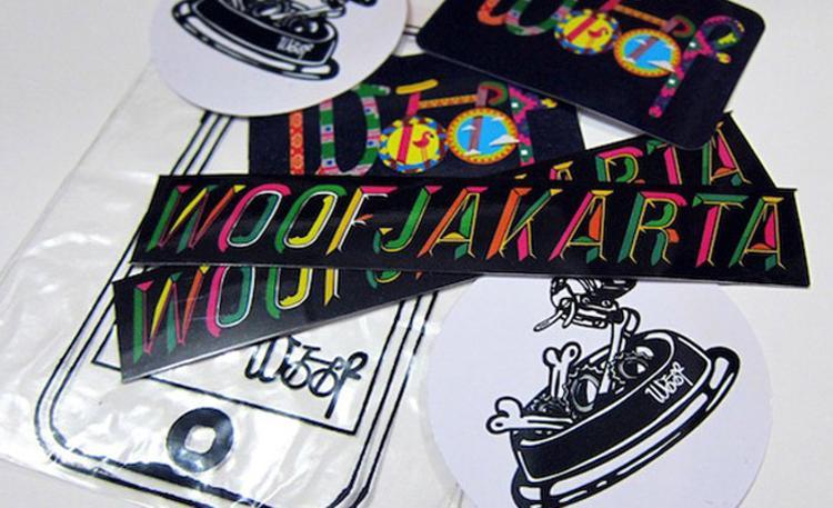 Woof Jakarta: Sticker Packs