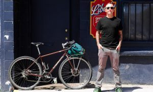 Beautiful Bicycle: Josh and His Salsa Vaya Tourer