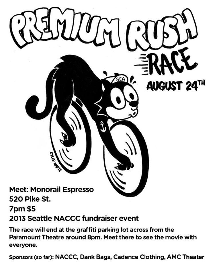Premium Rush Alleycat in Seattle