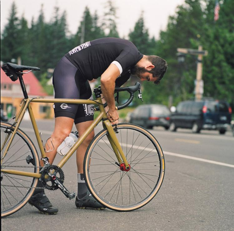 Beautiful Bicycle: Ty and His Hufnagel Cross