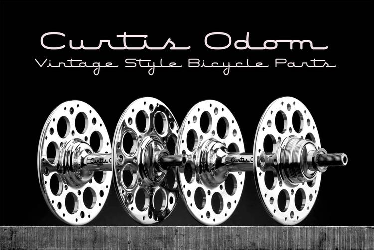 Curtis Odom Hubs: Vintage Style Bicycle Parts