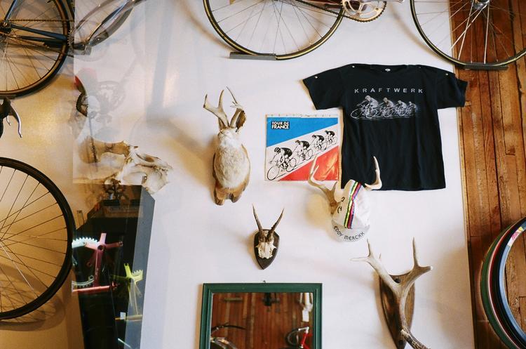 More Kraftwerk in Bike Shops