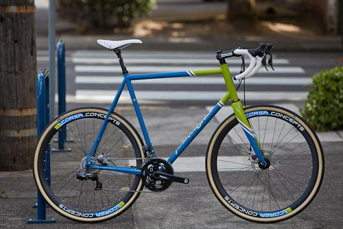 Beautiful Bicycle: Matt's Signal Cross