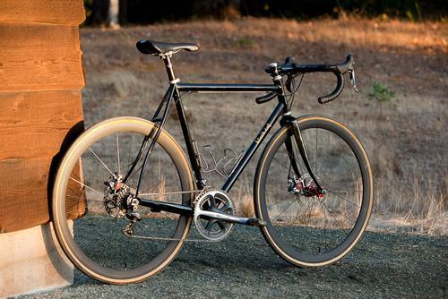Beautiful Bicycle: Eric's Black Cat Disc Road