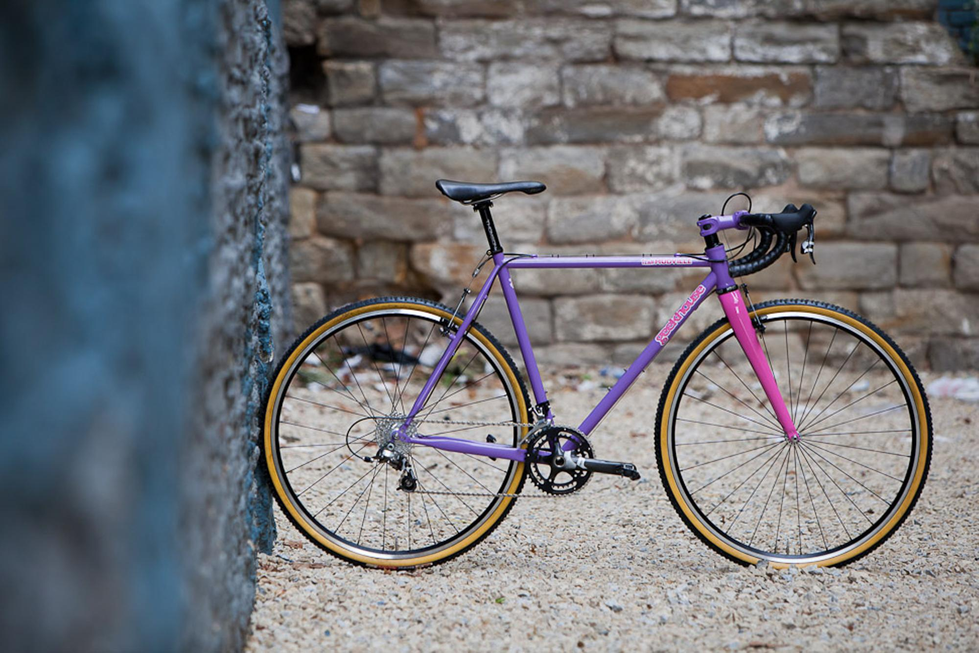Beautiful Bicycle: Brad's Geekhouse Team Mudville Cross