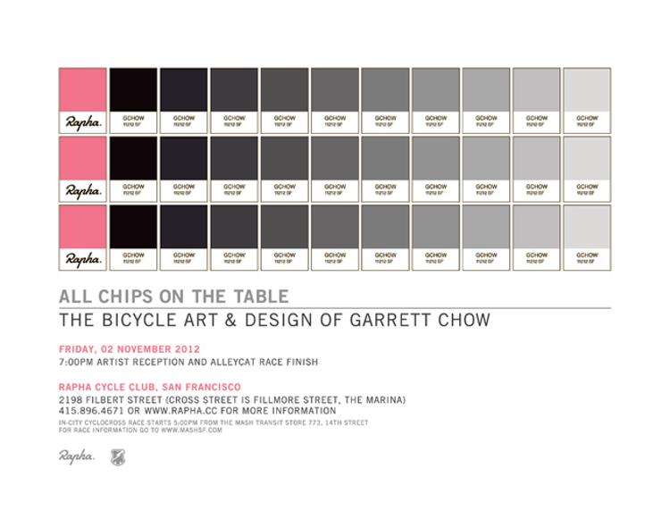 The Bicycle Art & Design of Garrett Chow