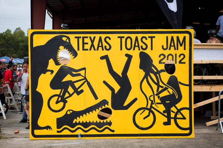 The 2012 Odyssey BMX Texas Toast Jam!