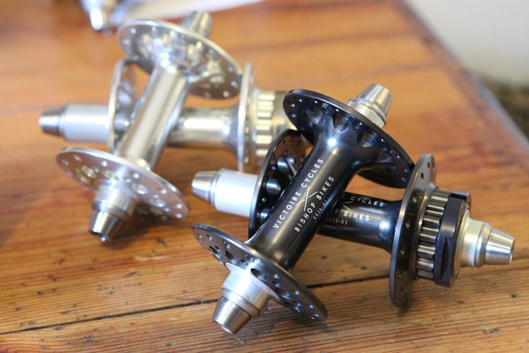Victoire Cycles and Bishop Bikes Supersprint Hubs