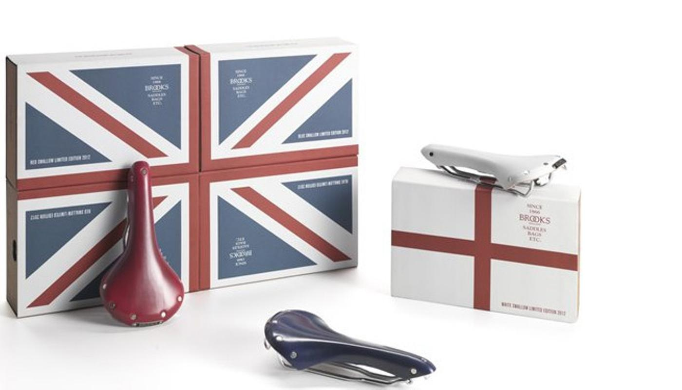 Ben's Cycle: Union Jack Swallow Saddles in Stock