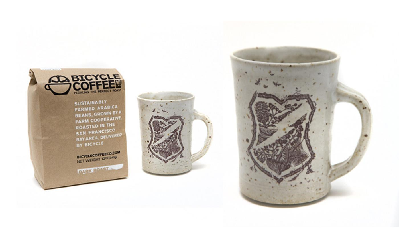 Mash SF: Cutty Cross Mugs and Bicycle Coffee