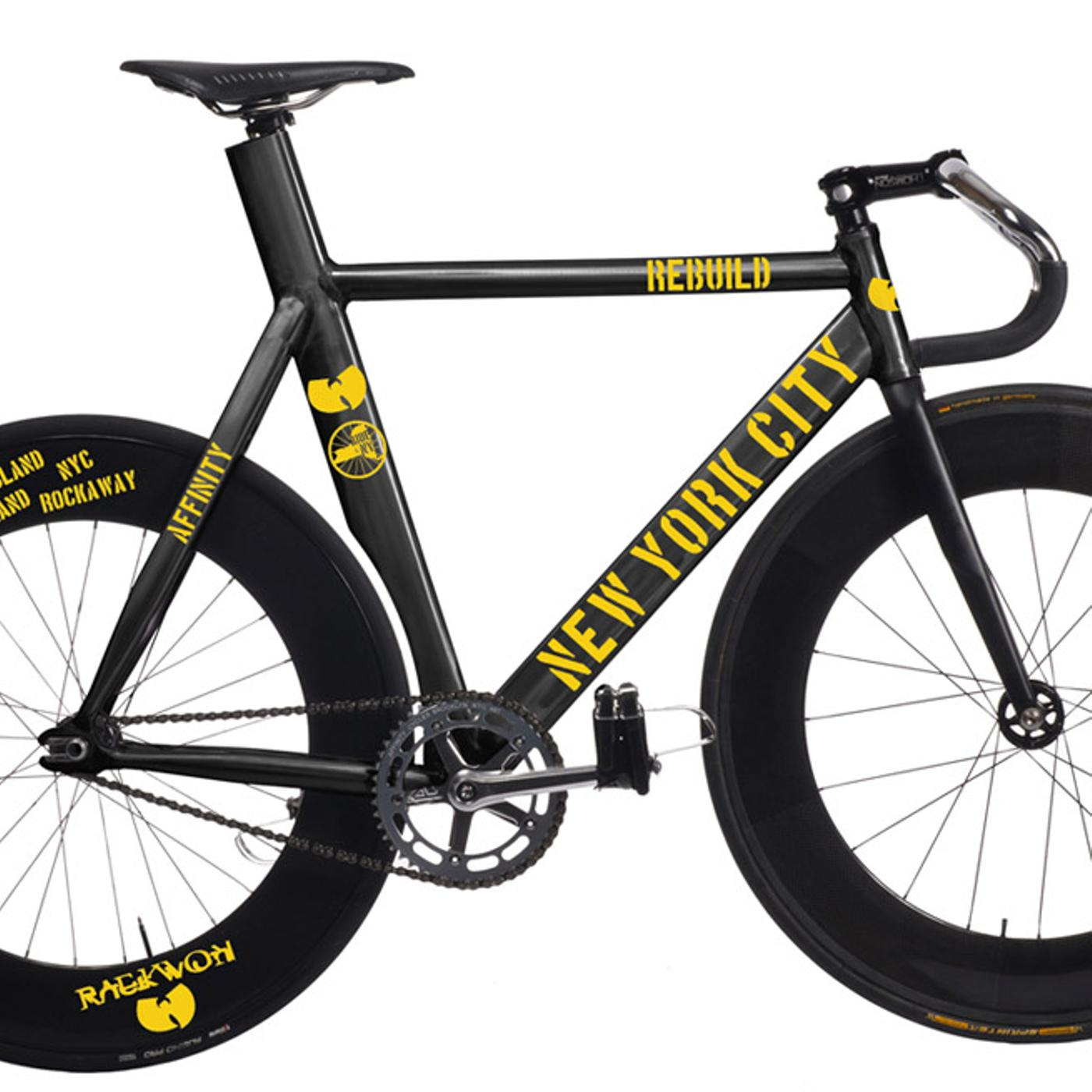 Affinity and Raekwon from the Wu Tang Present the Ride4NY Charity Bikes