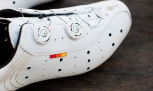 Initial Reaction: White Leather Specialized 74 Road Shoes